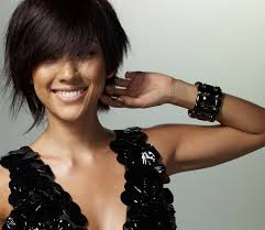 womans short hairstyle for thick brown hair cute short haircuts for women with thick hair fashion trends