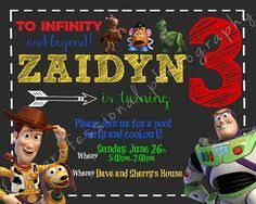toy story birthday invitation on etsy 10 00 invites u0026 party