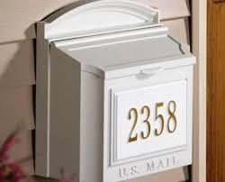 deluxe wall mount mailbox u2014 home decor blog decorative wall