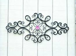 rod iron wall art home decor rod iron wall art home decor medium size of wrought iron home
