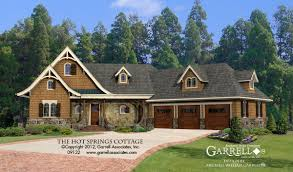 Plan Houses by Springs Cottage 3 Car House Plan House Plans By Garrell