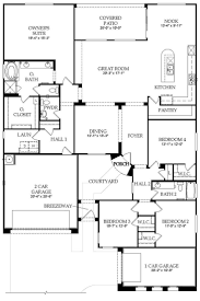 Large 1 Story House Plans 42 Open Floor Plans Home Plans With 2 Bed Bedroom House Plans 2