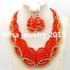 wedding bead necklace images African wedding bead necklace images jpg