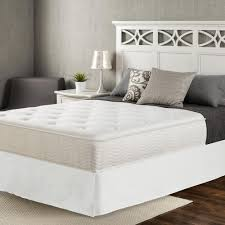 zinus icoil queen firm pocketed spring mattress hd mct 1000q the