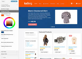 iceberg ecommerce theme by progressionstudios themeforest