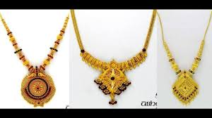 gold necklace set jewellery images Light weight gold necklace sets jewellery designs jpg