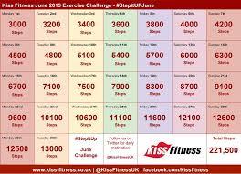 Challenge Steps Stepitupjune Exercise Challenge 2015 Fitness