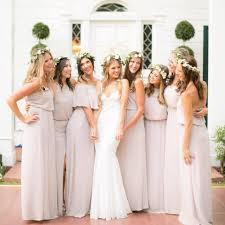 me your wedding dress colored bridesmaids dresses me your mumu bridesmaid