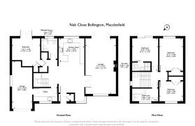 nab floor plan 4 bedroom detached house for sale in nab close macclesfield