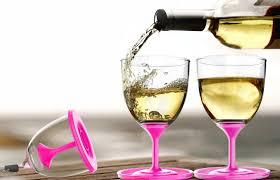 stack n u0027 go portable plastic wine glass 10 oz set of 2