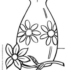 pattern vase free coloring pages online print coloring page of a