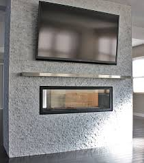 see through electric fireplace binhminh decoration