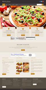 site cuisine italienne cuisine free restaurant html website templates templatessky site