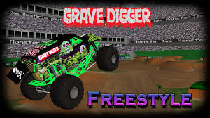 grave digger monster truck 30th anniversary ror grave digger 2006 freestyle youtube