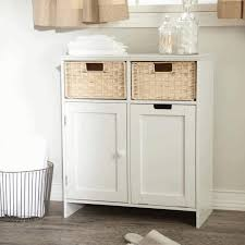 White Bathroom Linen Tower - bathroom linen tower grey finish varnished wooden vanity cabinet