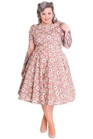 vintage style 1940s plus size dresses flower prints 1940s and