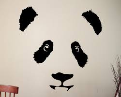online get cheap kids bedroom design aliexpress com alibaba group panda wall decal cute animal vinyl sticker nursery decor home room interior design art murals for children kids bedroom