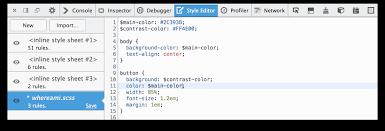 style editor firefox developer tools mdn
