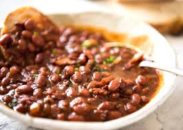 homemade baked beans with bacon southern style recipetin eats