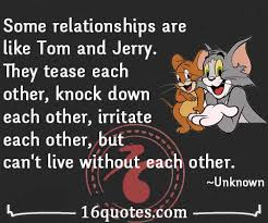 relationships tom jerry