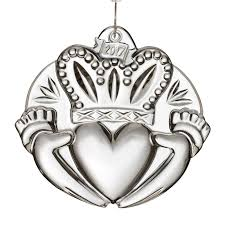 waterford claddagh ornament 2017 ornament