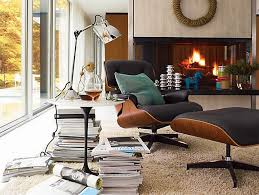 Miller Lounge Chair Design Ideas Ideas Awesome Gray Eames Lounge Chair With Footrest And Small