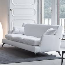 Low Back Sofa Contemporary Furniture From Belvisi Furniture Cambridge