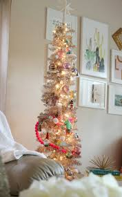 small pink christmas tree my christmas decorations 3 tips for decorating a small space
