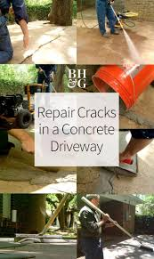 How To Fix Cracks In Concrete Patio by Best 20 Driveway Repair Ideas On Pinterest Diy Concrete