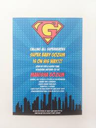 superman baby shower invitations themesflip com