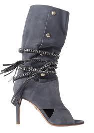 mc boots armena denim suede boots monika chiang