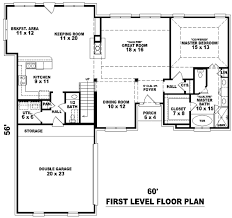 House Plans With Keeping Rooms European Style House Plans Plan 6 574