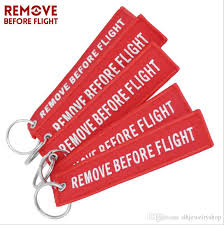 red key rings images Funny creative fabric key ring remove before flight keychain pilot png