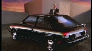 1985 renault alliance convertible amc renault encore commercial george c scott 1986 youtube
