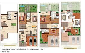 floor plan of ajnara panorama london square sector 22a yamuna