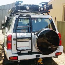 nissan rogue luggage rack nissan patrol gu ladder u2013 rogue 4 4