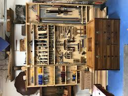 wall hung tool cabinet and tool chest workshop pinterest