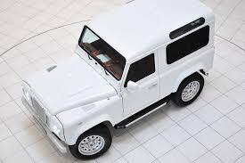 white land rover defender land rover defender 90 by startech hiconsumption