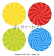 Starburst Design Clip Art Vector Illustration Swirl Design Swirling Radial Stock Vector