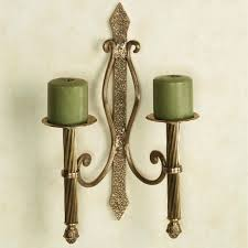 metal sconces contemporary wall sconce candle in pair for homeing