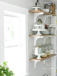 Open Kitchen Shelving Ideas Open Kitchen Shelves Farmhouse Style Intentional Hospitality