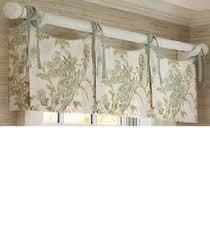 why choose custom window treatments country life black 52 x20 ascot window valance with tassel