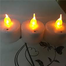 led tea lights battery life 6pcs blow on off tea lights with 6pcs plastic candle holder led