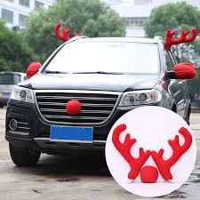 reindeer antlers for car car decoration reindeer car decoration christmas party