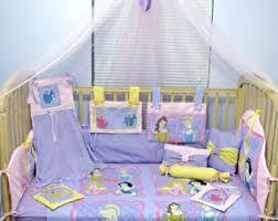 Cinderella Crib Bedding Tinkerbell Pixie Hollow Green Purple 12 Baby