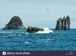 Volkner by Volkner Rocks Bay Of Plenty New Zealand Stock Photo Royalty