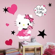 amazon com hello kitty couture peel stick giant wall decal 18 amazon com hello kitty couture peel stick giant wall decal 18 x 40in home improvement