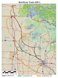 Trans America Trail Map by U S Central Plains States Ks Wi Ok Co Tx Mo Nd Ne Sd Mn