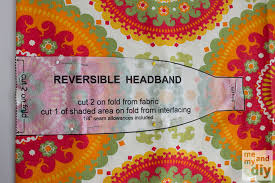 fabric headband reversible headbands a beginning sewer s tutorial