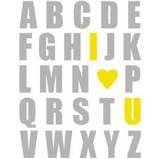 Yellow And Gray Nursery Decor Yellow And Gray Abc Print Nursery Print Baby Nursery